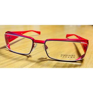 アランミクリ(alanmikli)のメガネ アランミクリ A0520 12 レッド/パープル/クリア(サングラス/メガネ)