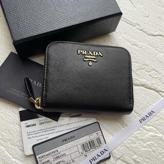 PRADA - 【美品】41 PRADA プラダ ラウンドファスナー 財布 小銭入れ