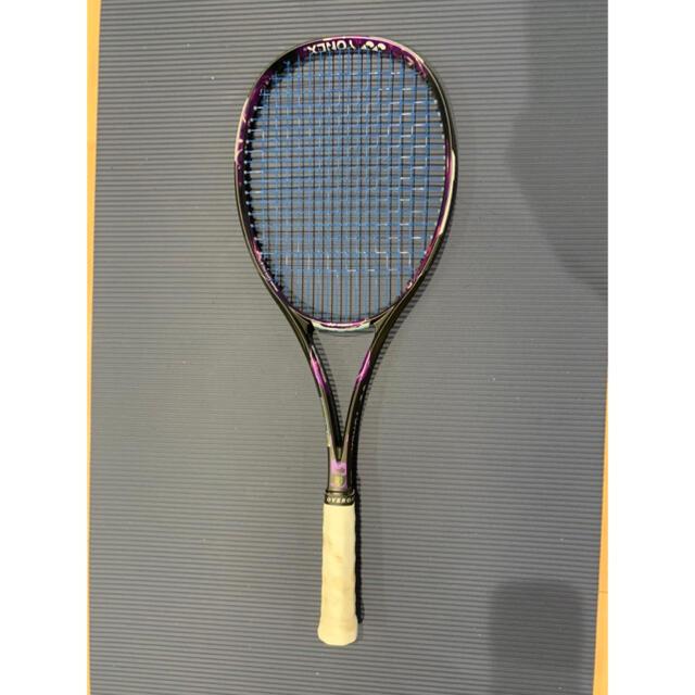 YONEX(ヨネックス)のソフトテニスラケット GEO 80V スポーツ/アウトドアのテニス(ラケット)の商品写真