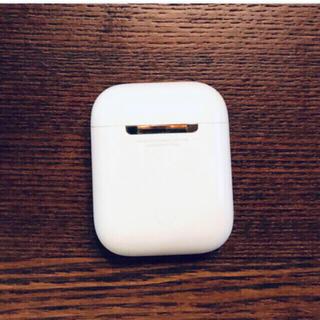 アップル(Apple)のApple AirPod第2世代MV7N2J/A付属A1602充電ケース状態良好(ヘッドフォン/イヤフォン)