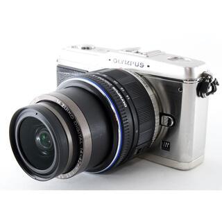 ニコン(Nikon)の#2370☆iPhone、スマホに写真転送OK♪☆ OLYMPUS E-P1(ミラーレス一眼)