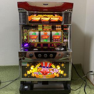 キタデンシ(北電子)のアイムジャグラー EX-C パチスロ実機 データカウンター付き 家庭用電源(パチンコ/パチスロ)