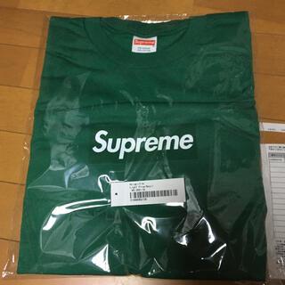 シュプリーム(Supreme)の国内正規品 supreme Box Logo L/S Tee 緑S ロンT(Tシャツ/カットソー(七分/長袖))