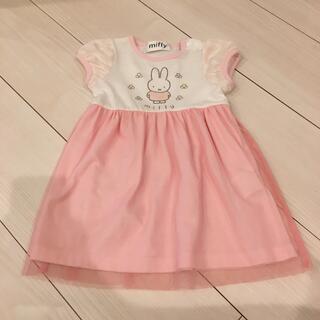 しまむら - バースデイ ミッフィー  ワンピース ピンク