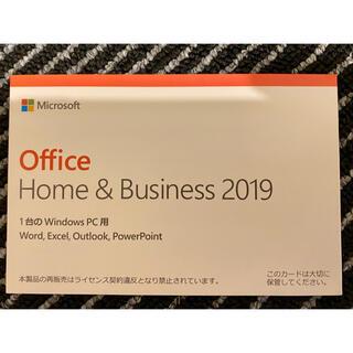 Microsoft - 新品Microsoft Office2019 Home&Business 永続版
