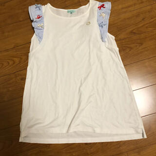 トッカ(TOCCA)の【希少】美品 TOCCA ハローキティコラボ チュニックカットソー(Tシャツ/カットソー)