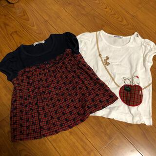 ファミリア(familiar)のファミリア 人気デザイン Tシャツ 2枚セット(Tシャツ/カットソー)