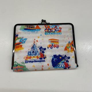 ディズニー懐かし紙袋柄☆ハンドメイド☆がま口型お薬手帳ケース