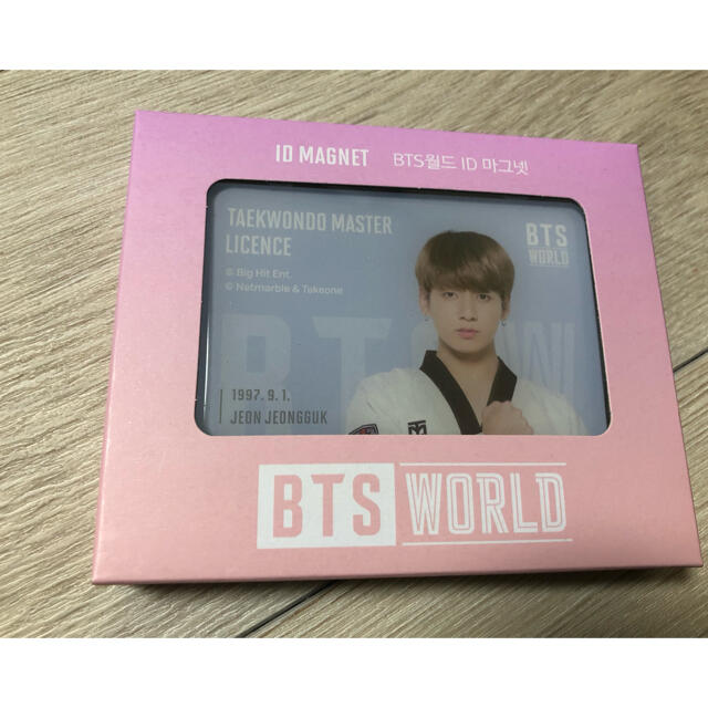 BTS WORLD 公式グッズ グク マグネット 新品 エンタメ/ホビーのCD(K-POP/アジア)の商品写真