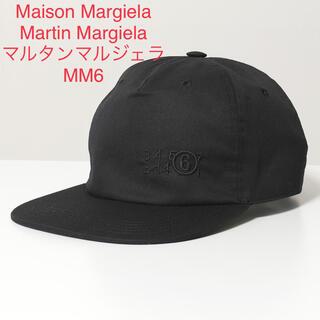 エムエムシックス(MM6)の新品 メゾンマルジェラ MM6 帽子 ベースボールキャップ ブラック レディース(キャップ)
