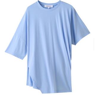 ENFOLD - ENFOLD  ソフト天竺 TWISTタックtシャツ
