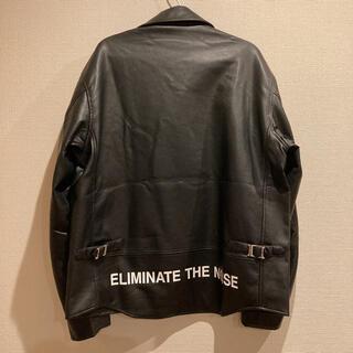 ジーユー(GU)のGU アンダーカバー ライダースジャケット XL(ライダースジャケット)