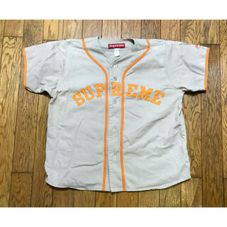 Supreme - SUPREME BASEBALL SHIRT シュプリーム  ベースボールシャツ