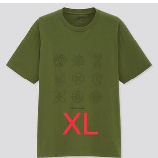 ユニクロ(UNIQLO)のユニクロ UT  鬼滅の刃 Tシャツ XL   日輪刀(Tシャツ/カットソー(半袖/袖なし))