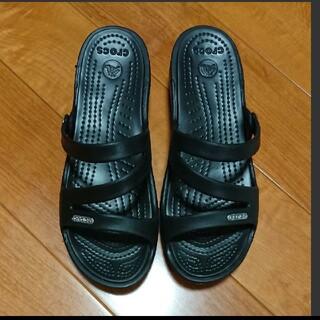 crocs - クロックス  サンダル  パトリシア  ブラック  crocs  黒