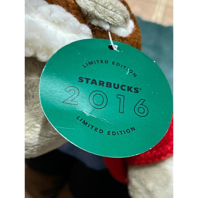 Starbucks Coffee(スターバックスコーヒー)のスターバックス 2016 ホリデー ベアリスタ ボーイ エンタメ/ホビーのおもちゃ/ぬいぐるみ(ぬいぐるみ)の商品写真