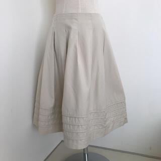 エムプルミエ(M-premier)のエムプルミエ 裾タックスカート 38(ひざ丈スカート)