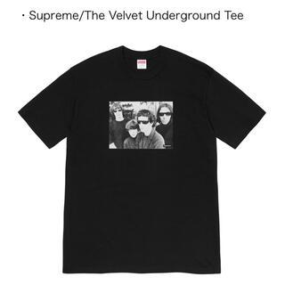 Supreme - Supreme the velvet underground tee