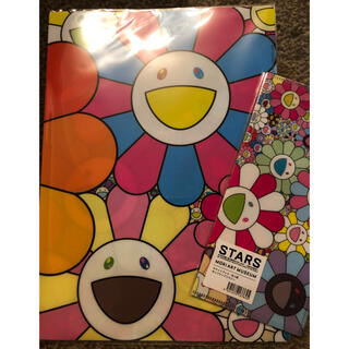 モマ(MOMA)の村上隆 クリアファイル&チケットブック フラワー(キャラクターグッズ)