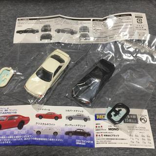 ガチャ景品 スカイラインGT-R 2台(ミニカー)
