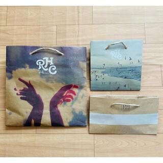 ロンハーマン(Ron Herman)のロンハーマン ショッパー 3枚セット(ショップ袋)