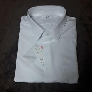 UNIQLO - ユニクロ ドライイージーケアコンフォートシャツ 半袖 白 ホワイト 4XL