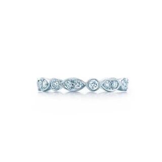 Tiffany & Co. - ティファニージャズリング フルサークルダイヤモンドリング