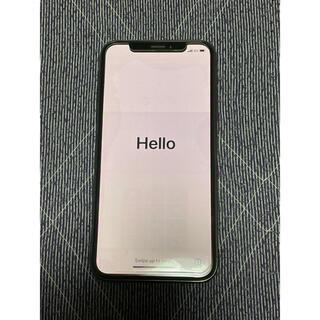 iPhone - iPhoneX 64GB ブラック SIMフリー