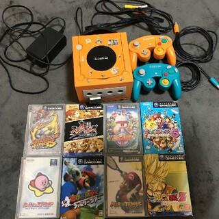 ニンテンドーゲームキューブ - 任天堂 ゲームキューブ 本体+ゲームソフト8本
