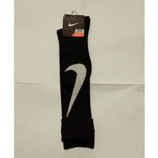 NIKE - ナイキ ハイソックス 黒 23〜25cm 靴下
