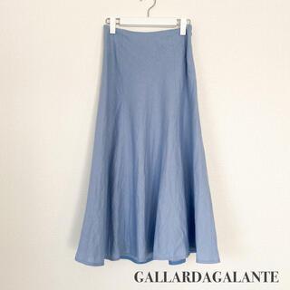 ガリャルダガランテ(GALLARDA GALANTE)のGALLARDAGALANTE ガリャルダガランテ リネンマーメードスカート(ロングスカート)