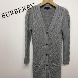 BURBERRY - BURBERRY London バーバリー ケーブルニット カーディガン S
