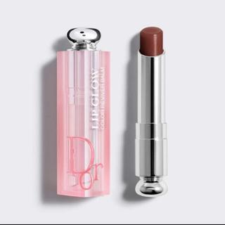 ディオール(Dior)のdior ディオール アディクト リップ グロウ 020 マホガニー 新色(口紅)
