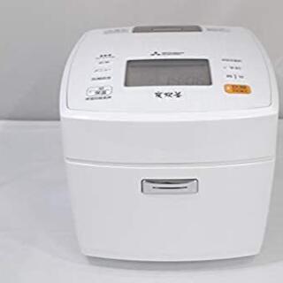 ミツビシデンキ(三菱電機)の三菱電機 IHジャー炊飯器 備長炭炭炊釜 5.5合炊き ピュアホワイト NJ-V(炊飯器)