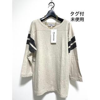 DEUXIEME CLASSE - タグ付未使用 AMERICANAアメリカーナ FOOTBALL Tシャツ