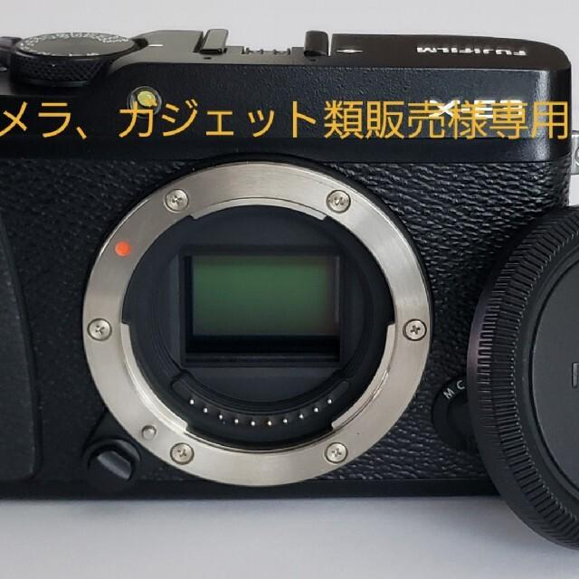 富士フイルム(フジフイルム)のカメラ、ガジェット類販売様専用FUJIFILM X-E3 新古品 美品!! スマホ/家電/カメラのカメラ(ミラーレス一眼)の商品写真