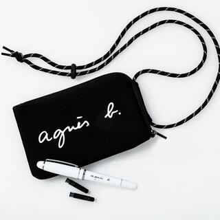 agnes b. - アニエスベーポーチ 付録 新品未使用 便利