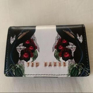 テッドベイカー(TED BAKER)の花柄 ミニ財布(財布)