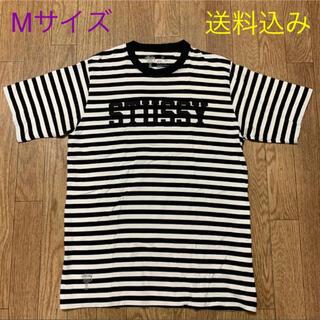 STUSSY - ステューシー デラックス ボーダー Tシャツ / Mサイズ
