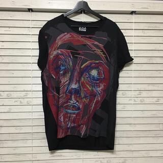 ヨウジヤマモト(Yohji Yamamoto)のBLACK Scandal Yohjiyamamoto 半袖カットソー(Tシャツ/カットソー(半袖/袖なし))