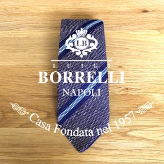 LUIGI BORRELLI - 新品❗️未使用❗️LUIGI BORRELLI (ルイジボレッリ)ネクタイ
