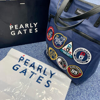 PEARLY GATES - パーリーゲイツ PEARLY GATES トートバッグ ワッペン