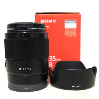 SONY - sel35 f18 レンズ 単焦点 ほぼ新品