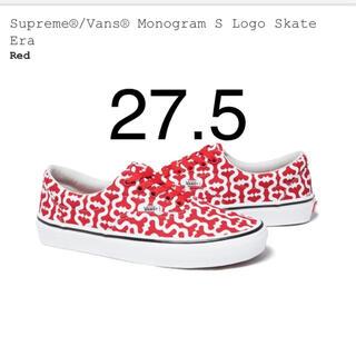Supreme®/Vans® Monogram S Logo Skate Era