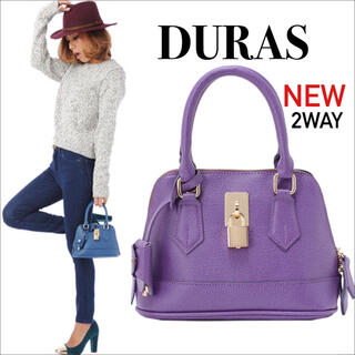 デュラス(DURAS)のDURAS ミニ2wayバッグ ハンドバッグ ショルダーバッグ♡rienda(ハンドバッグ)
