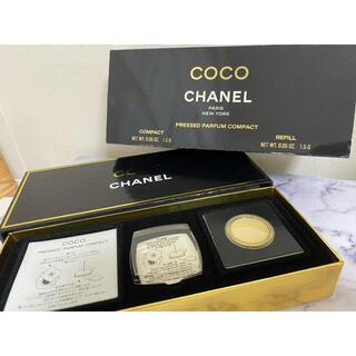 シャネル(CHANEL)の【未使用】CHANEL PRESSED PARFUM COMPACT(香水(女性用))
