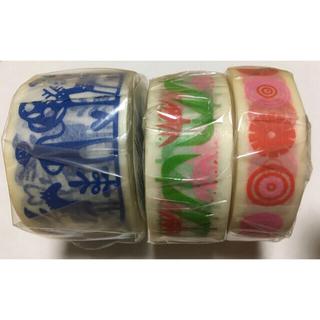 エムティー(mt)のmt マスキングテープ 3種類 BENGT &LOTTA SWEDEN(テープ/マスキングテープ)