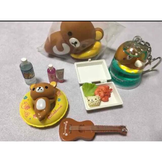 サンエックス(サンエックス)のリラックマ  ミニチュア リーメント フィギュア セット エンタメ/ホビーのおもちゃ/ぬいぐるみ(キャラクターグッズ)の商品写真