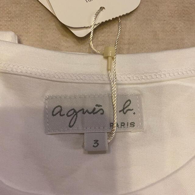 agnes b.(アニエスベー)の新品未使用 アニエスベー 半袖 ティシャツ ロゴ agnes b. レディースのトップス(Tシャツ(半袖/袖なし))の商品写真