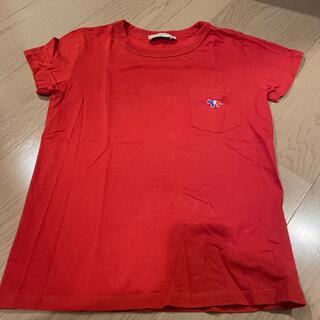 メゾンキツネ(MAISON KITSUNE')のメゾンキツネポケットTシャツ(Tシャツ(半袖/袖なし))